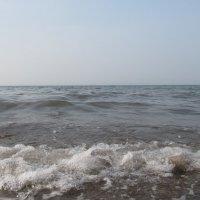 Хакасия, озеро Шира в смоге :: Татьяна Михеева