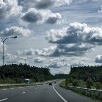 дорога с облаками :: Ирина Ильина