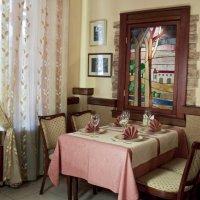 Интерьер ресторана Тихая площадь в г. Новосибирске :: Сергей Комаров