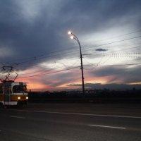 Ночной трамвайчик :: Татьяна Морозова