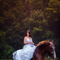 A girl, a horse and rain... :: Vladimir Vagner