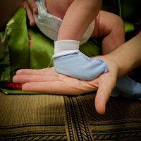 Когда-нибудь эта ножка сделает первый шаг :: Ольга Хабарова