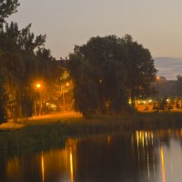 вечернее озеро :: Игорь Кубай