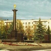 стела город воинской славы :: Сергей Кочнев