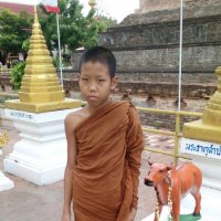 Мальчик буддийский монах :: Владимир Шибинский