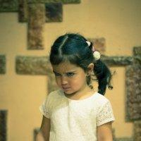 - А как папа злится на маму? :: Анна Брацукова
