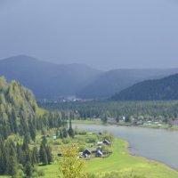 дождь над Кабырзой :: Евгений Фролов