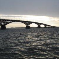 Саратовский мост :: Александр Михайлов