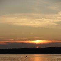 Ты веслом рассекала залив... :: Альбина Хамидова