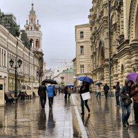 В Москве дождь :: Борис Гольдберг