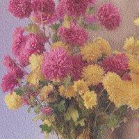 Осенние цветы :: Катрина Деревеницкая