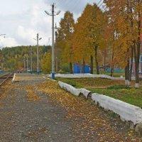 Часто мне вспоминается маленькая станция... :: Валерий Симонов