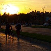 Закат в Пальма-де-Майорке :: Anna Shkonda