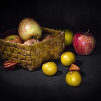 Яблоки и сливы :: Елена Панькина
