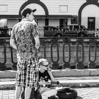 Пауза (серия Уличные музыканты) :: Valerii Ivanov
