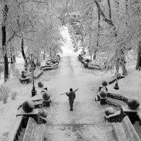 Один в парке воин ... :: Владимир КРИВЕНКО