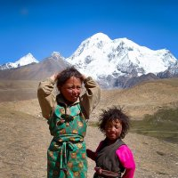 Сестренки из горной деревушки :: Boris Khershberg