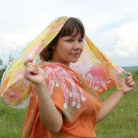 Девушка и ветер :: Ирина Рыкова