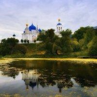 Боголюбово....Фото на холсте... :: Сергей Клапишевский