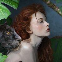 Арт портрет - Мечта :: Наталия Львова