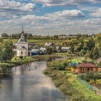 Утром, у реки. :: Viacheslav Birukov
