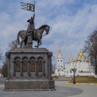 Князь Владимир и святитель Фёдор.Успенский собор. :: Дмитрий Карасев