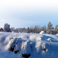 Зима в Швеции :: Alm Lana