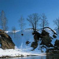 Ледоход на Москва-реке :: Сергей Курников