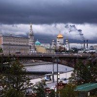 Непогода в Москве, непогода :: Дмитрий Печенкин