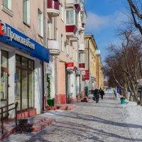 По проспекту ленина в г.Комсомольск-на-Амуре. :: Виктор Иванович Чернюк