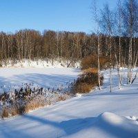 Зимний пейзаж. :: Милешкин Владимир Алексеевич