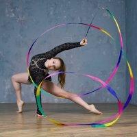 упражнение с лентой :: Наталья Егорова