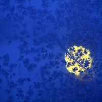 Влюбленные снежинки  Хоровод :: олег свирский
