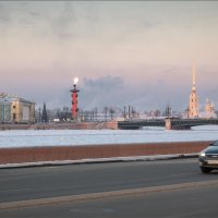 Морозный вечер... :: Сергей Кичигин