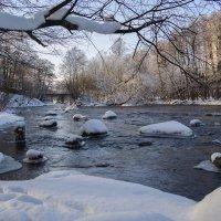 Зимняя речка :: Василий Максимов