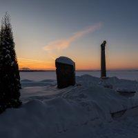 Зимний закат. :: Виктор Евстратов
