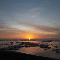 Закат на море :: Красоты Балтики