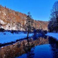 Февраль на реке Пегнитц :: backareva.irina Бакарева