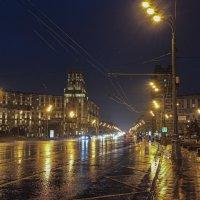 Ленинский проспект с площади Гагарина в сторону центра. :: Alexandr Gunin