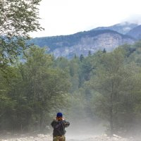"""Утро на горной реке :: """"Наиль Батталов"""