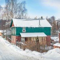 Дом на улице :: Юлия Батурина
