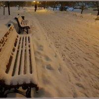 Одинокий велосипедист на вечернем бульваре... :: Лариса Масалкова