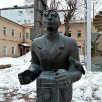 Москва.Статуя фотографа... :: Aлександр **