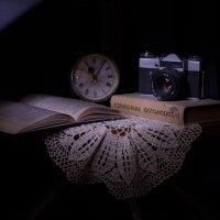 Проба съёмки натюрморта со световым пером :: Дмитрий