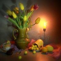 С  мартовскими тюльпанами... :: Нэля Лысенко