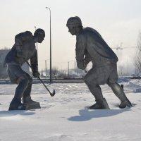 Хоккей на снегу... :: Андрей Хлопонин