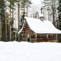 """В музее деревянного зодчества """"Малые Корелы"""". :: Марина Никулина"""