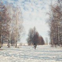 Одинокий рыбак.. :: Юлия Авдеева
