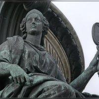 6.Памятник Николаю I и его фрагменты (Мудрость) :: Юрий Велицкий