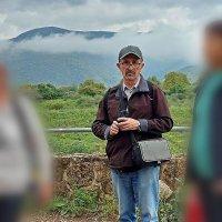на фоне горы Хермон :: Александр Корчемный